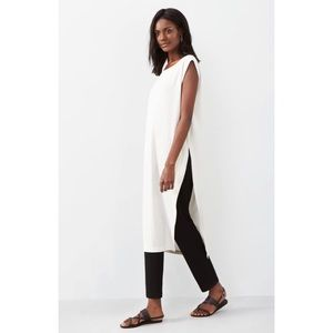 Eileen Fisher Pants - Eileen Fisher Stretch Crepe Slim Ankle Pants